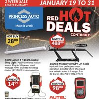 - 2 Weeks Sale - Red Hot Deals Continued Flyer