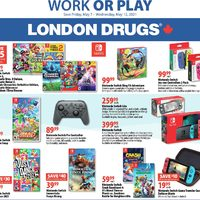 London Drugs - Work Or Play Flyer