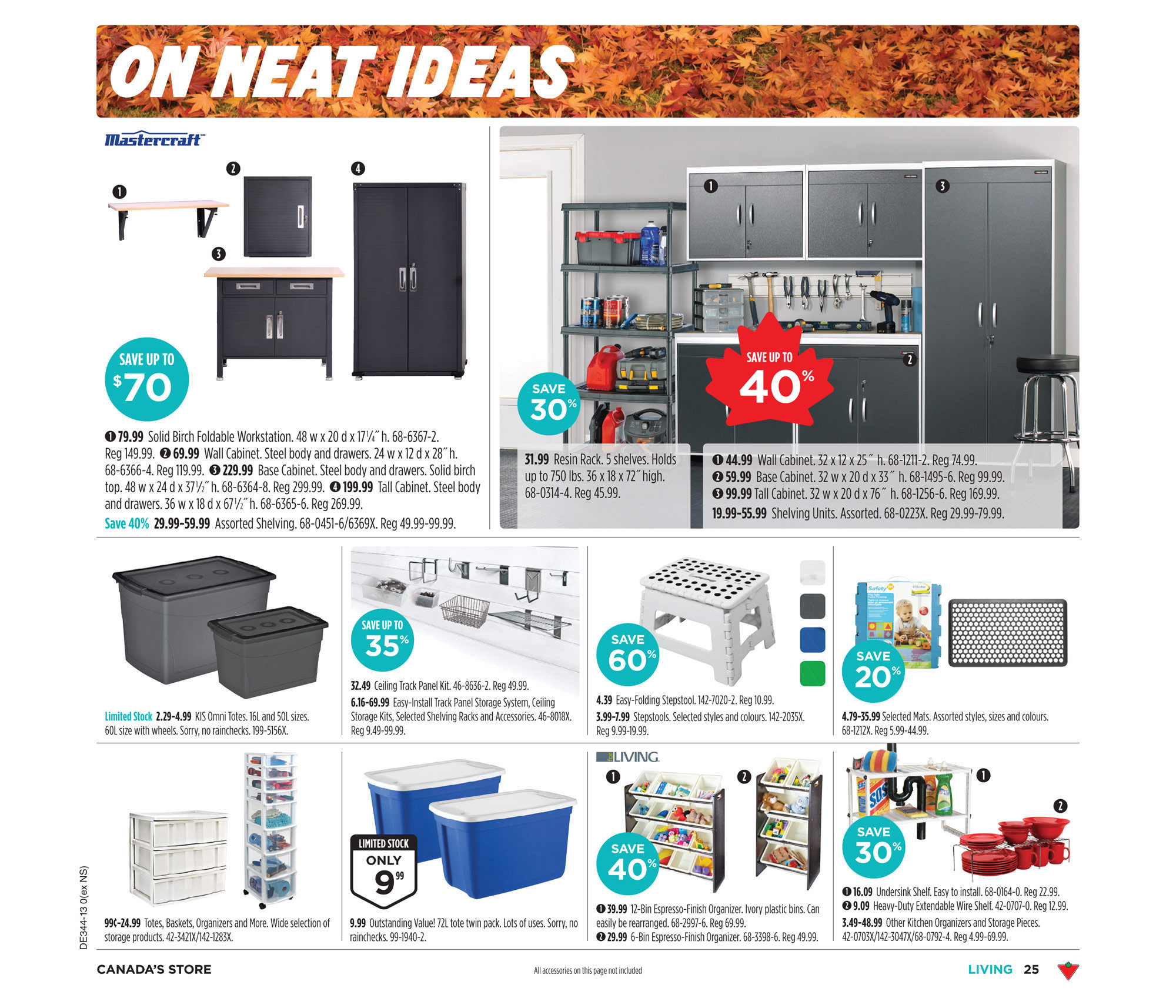Canadian Tire Weekly Flyer Oct 24 31 3d Origami Swan Diagram Ii By Bunna X3