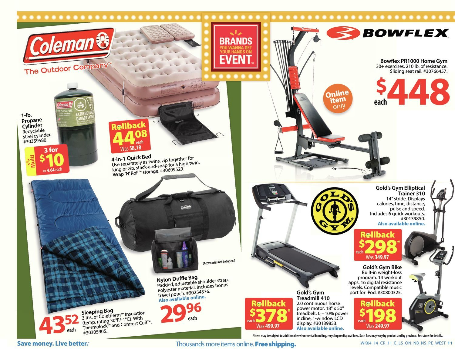 Walmart Weekly Flyer - Handout Flyer - Feb 21 – 27