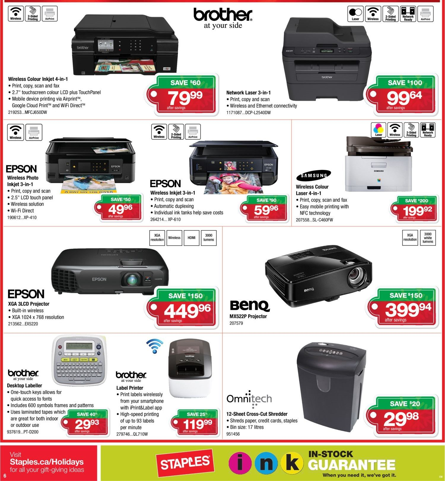 staples weekly flyer black friday more savings less stress nov
