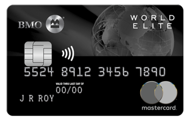 BMO® World Elite™* Mastercard®*