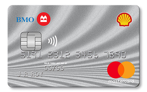 Shell®†† CashBack World MasterCard®* from BMO®