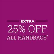 Additional 25% Off Handbags