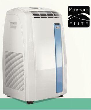 Sears Portable Air Conditioner >> Sears Kenmore Elite 12 000 Btu 3 In 1 Portable Air