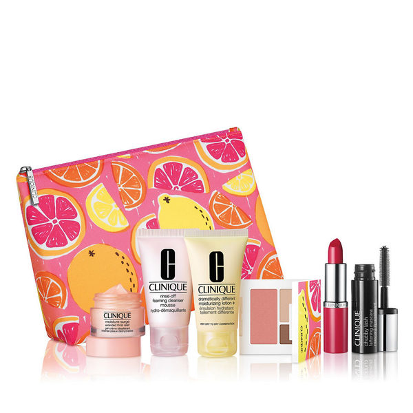 The Bay Hudson's Bay: Free 6-Piece Clinique Gift Set with $34 Clinique Purchase! Free 6-Pc. Clinique Gift Set with $34 Purchase!