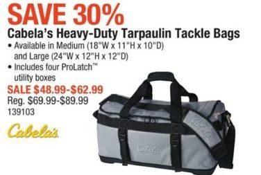 Tackle CabelasCabela's Tarpaulin Duty Bags Heavy nmN8OPyv0w