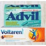 Advil Liqui-Gels or Voltaren Emulgel - $10.99
