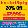 20% Off On DHL International Shipping