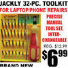 Jackly 32-Pc. Tool Kit - $6.99