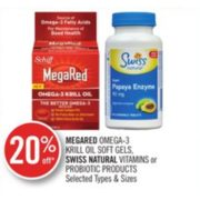20% Off Swiss Natural Vitamins or Probiotic Products