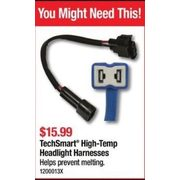 TechSmart High-Temp Headlight Harnesses - $15.99