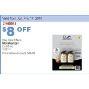 Olay Total Effects Moisturizer - $28.99 ($8.00 off)