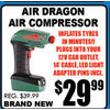 Air Dragon Air Compressor - $29.99