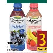 Bolthouse Juice  - $3.99/946 ml (Up to $2.00 off)
