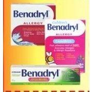 Apple Drugs: Benadryl Liqui-Gels, Children's Chewables, Extra