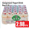 Assignment Yogurt Drink - $2.98/pk