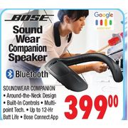 Bose Sound Wear Companion Speaker  - $399.00