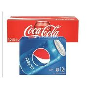 Coca-Cola, Canada Dry Or Pepsi Products Regular Or Diet - $5.77