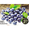 Blueberries - $2.99