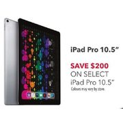 "Select iPad Pro 10.5"" - $200.00 off"