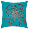 Mina Victory Octopus 18-inch Square Outdoor Pillow - $52.79 ($35.20 Off)