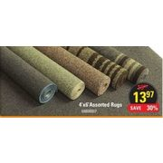 4 X 6 Rugs - $13.97 (Up to 30% off)