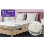 Mausund Queen Natural Latex Mattress - $935.00 (Up to 15% off)