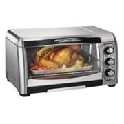 Hamilton Beach Easy-reach Convection Toaster Oven, 6-slice - $59.99 ($60.00 Off)
