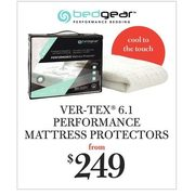 Bedgear Ver-Tex 6.1 Performance Mattress Protectors  - From $249.00