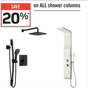 All Shower Columns - 20% off