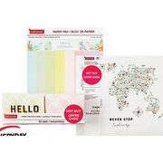 Paper Pads, Scrapbook Albums & Boxed Cards by Craft Smart & Recollections - $12.00