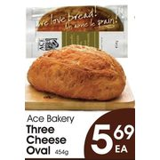 Ace Bakery Three Cheese Oval - $5.69