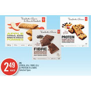 PC Cereal, Fibre Or Protein Bars - $2.49