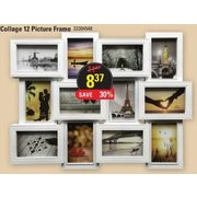Collage 12 Picture Frame - $8.67 (30% off)