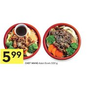 Chef Wang Asian Bowls - $5.99