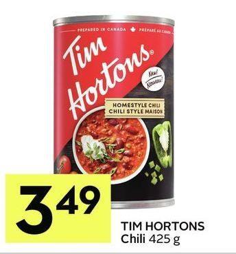 Iga Tim Hortons Chili Redflagdeals Com