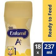 Enfamil A+, Enfamil A+2 Or Gentlease A+ Ready To Feed  - $49.47 ($5.50 off)