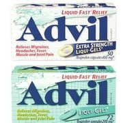 Advil Mini-Gels Extra or Regular Strength, Arthritis Pain or 12 Hour Liquid-Gels, Tablets or Caplets - $15.99