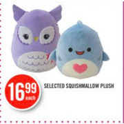 Squishmallow Plush - $16.99
