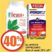 Shoppers Drug Mart 40 Off All Appetite Suppressants